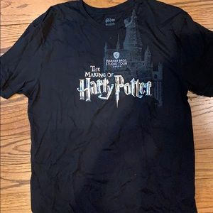 Warner Brothers Harry Potter Tee Shirt  XL Black